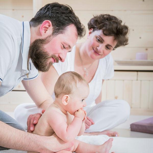 sedute individuali massaggio al bambino