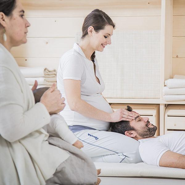 Facilitore esperto di massaggio in gravidanza